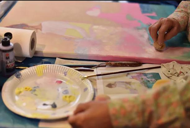 Dessin-peinture-céramique